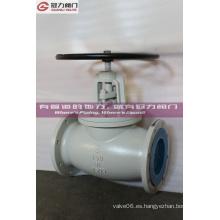 Dúctil hierro Ggg40 volante Op. Válvula de globo corporal