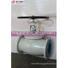 Ductile Iron Ggg40 Handwheel Op. Body Globe Valve