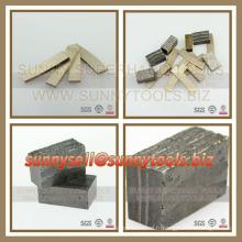 Laney vendant le segment de diamant pour la coupe en pierre