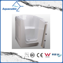 Acrylic Walk-in Wheelchair Safe Bathtub for Disabled (AB3138HW)