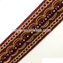 New Decorative Curtain Gimp Fringe, e Trims para Sofa, Valance, Tapeçaria, Tapete