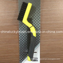 Plastic Handle PP Wire Brush for Cleaning or Polishing (YY-504)