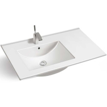 Environmental Ceramic and Self-cleaning Glaze cabinet basin