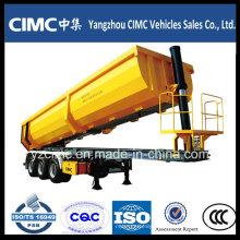 Abastecimento Cimc 3-Axle Tipping Tipper Semi-reboque