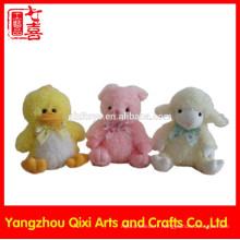 2016 en peluche jouets chine importation en gros lapin de pâques mignon en peluche lapin de Pâques en peluche douce pâques jouets