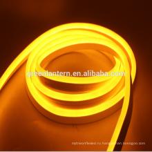 Высокая Яркость ac110v 220В 12В 24В smd2835 светодиодный неон Flex свет веревочки