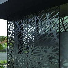 Architectural Decorative Laser Cut Metal Panels