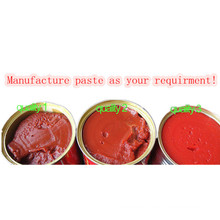 Canned Tomato Paste with Different Quality and Different Colors