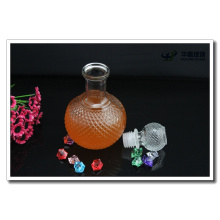 450ml Globe Shape Glass Wine Bottle and Glass Lid