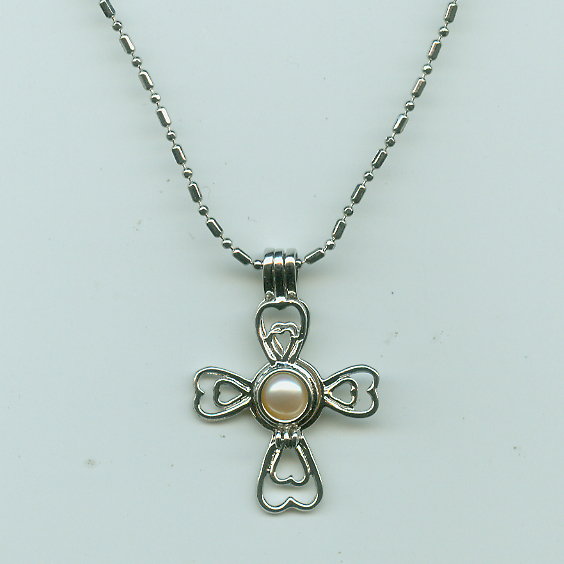 Cross Cage Pendant