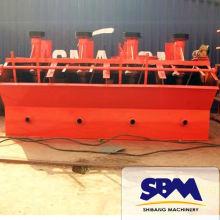 Séparation par flottation à haute efficacité de la chromite et du sable siliceux