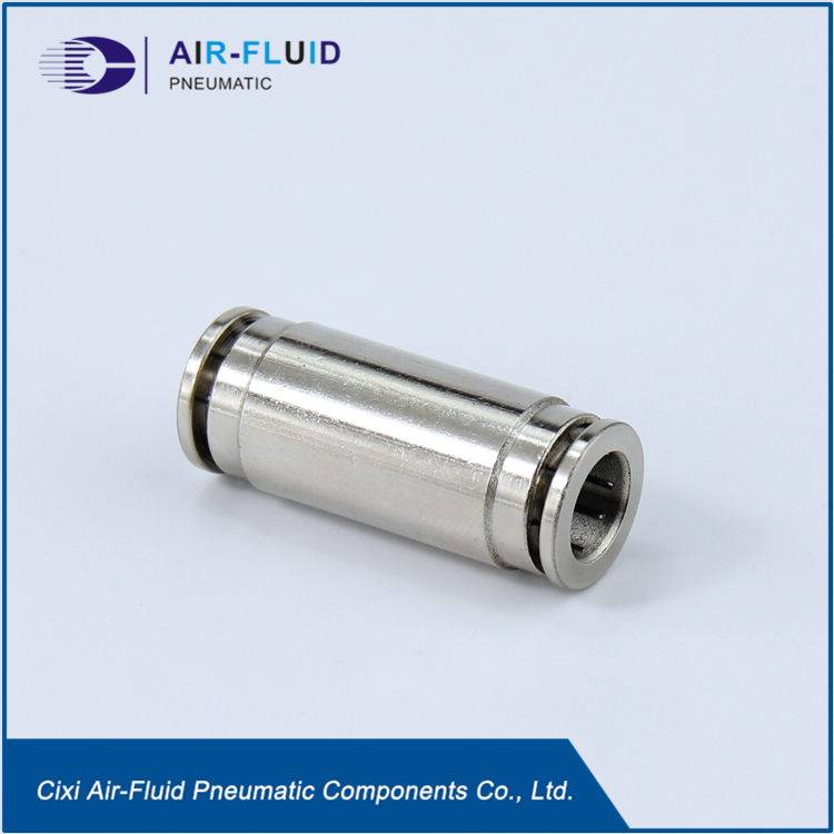 Air-Fluid Slip Lok Fittings Nickel Plated Brass.