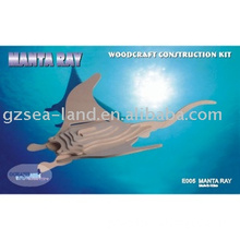 Manta Ray,Wooden toys