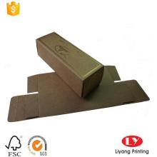 Packpapier Box aus braunem Kraftpapier