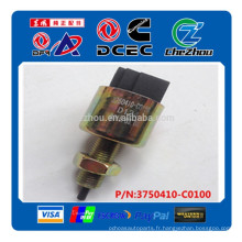 Moteur diesel automatique commutateur de lampe de frein assy 3750410-C0100