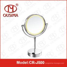 Batterie usagée Vanity Table Miroir à miroir LED Miroir