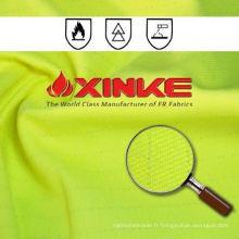 Tissu ignifuge protecteur de polyester / coton de Xinke pour des vêtements de travail