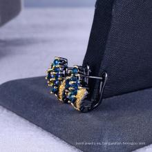 Joyería personalizada Sapphire earring stud