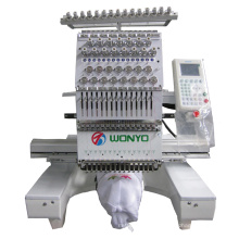 Machine de broderie de tête simple d'ordinateur de machine de broderie de Toyota
