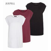 T-shirt ample en mousseline couleur Mutil