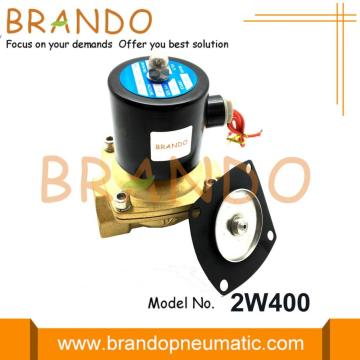 Normal Tutup Solenoid Water Valve Diaphragm 2W400