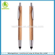 2015 bambou eco cadeau bon marché promotionnel écran tactile stylos