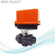 PVDF Electric Ball Valve Open and Close Type