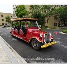 6 lugares movido a gás carro de golfe clássico para venda