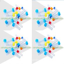 Tubo criogénico desechable de laboratorio clínico estéril de alta calidad