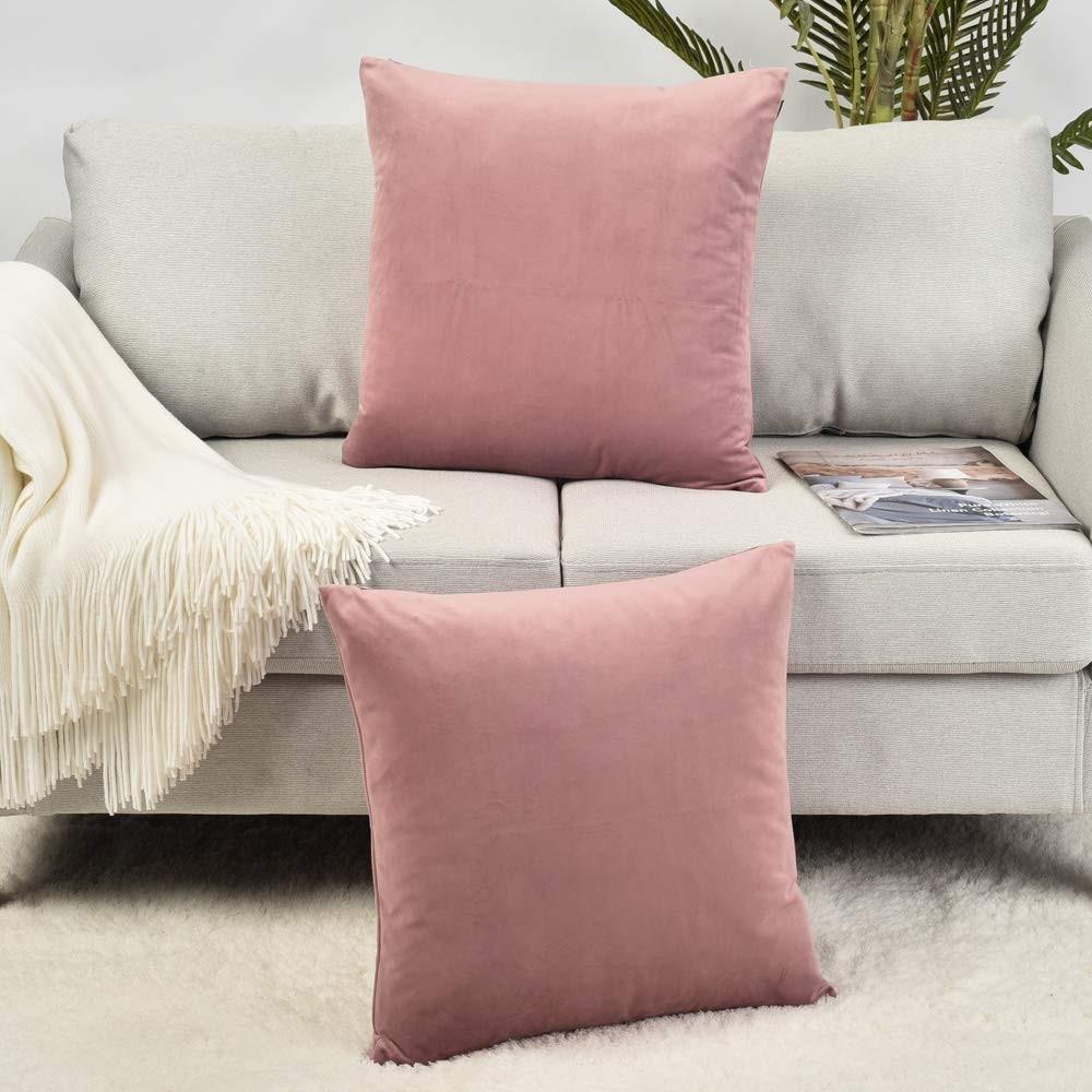 Squared Velvet Cushion For Home