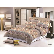 Luxury design Polyester Microfibre printed bedding Sets