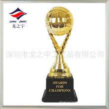 Trofeo más barato trofeo de voleibol de venta caliente