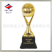 Most cheapest trophy hot selling small Volleyball trophy