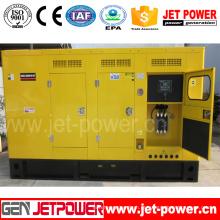 Tipo silencioso controlador silencioso do motor de Doosan do gerador de 240kw 300kVA