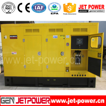 240kw 300kVA Generator Doosan Engine Silent Type Deep Sea