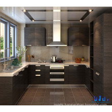 Melamine Paper MDF Particle Board Kitchen Cabinet