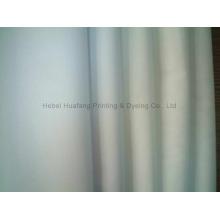 100% tecido de poliéster 45sx45s 110x76 Tela branca e tingida (HFPOLY)