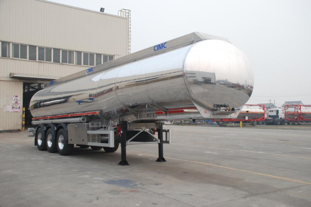 Lf Aramco Alu Alloy Fuel Tank Semi Trailer