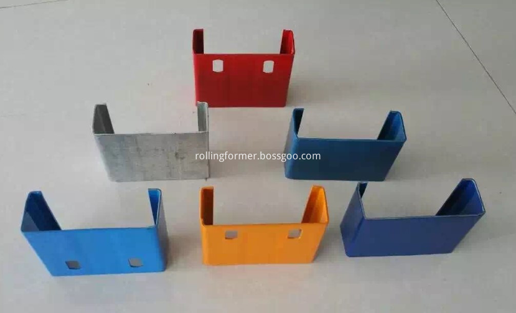 C section roll forming machine (2)