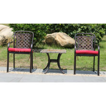 Cast Aluminum Furniture Outdoor Garden Leisure Armrest Chair (SZ218; CZ084)