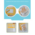 New style 4-layer plastic desktop cosmetic organiser with drawer