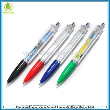promotional pharmaceuticals on the banner pen