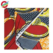 La teñido de cera africana pura del poliéster imprime la tela tejida para la venta