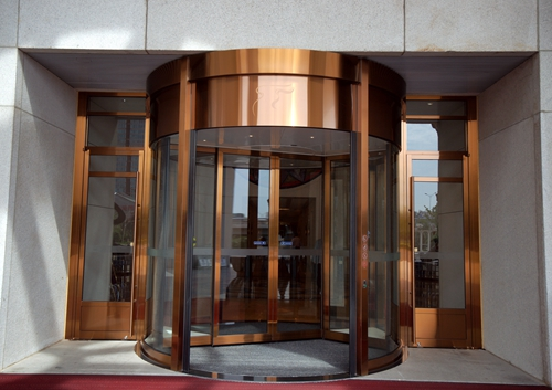 Hotel Two-wing Automatic Revolving Doors