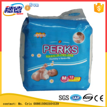 A Grade Baby Diapers Stock Diaper in Economic Packing S/M/L/Xl
