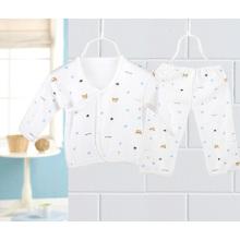 Baumwolle bedruckte Neugeborene Baby Anzug