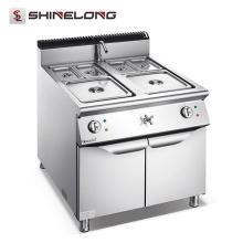 Furnotel 900 Series calentador de alimentos eléctrico de acero inoxidable Bain Marie precios con el gabinete
