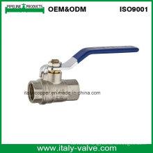 Made in China ODM Plated Brass Female Ball Valve (AV10073)