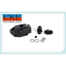 Custom Aluminum Precision Mechanical Parts , Plastic Block