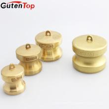 """GutenTop Camlock DP-200 de alta calidad de 4 """"Acoplamiento de latón Cam Groove acoplamiento rápido Acoplamiento de tapa de polvo"""